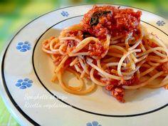 Spaghetti al ragù vegetariano