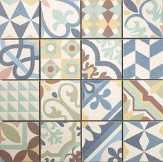 carreaux, ciment, tendance, carrelage, sol vinyle, sol stratifié, papier peint, tapis, motifs