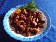 Jumari de porc - imagine 1 mare Piri Piri, Smoking Meat, Kung Pao Chicken, Beef, Cooking, Ethnic Recipes, Pork, Meat, Kitchen