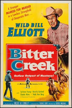 Movie Posters:Western, Bitter Creek and Other Lot (Allied Artists, 1954).... Image #1
