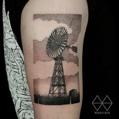 Monkey Bob tattoo Windmill Brisbane