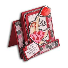 Girlfriends Balloon Valentine Card