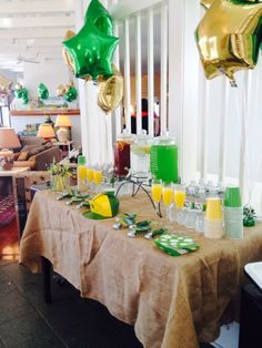 Party favors for John Deere themed birthday party.