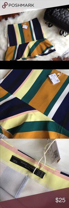Zara fall skirt!! New tags still attached Zara fall skirt Zara Skirts Mini