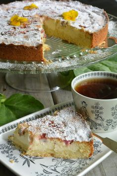 Just Desserts, Delicious Desserts, Baking Recipes, Cake Recipes, Scandinavian Food, Sweet Pastries, Sweet Pie, Desert Recipes, Yummy Cakes