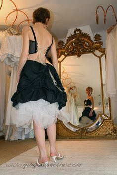 ... robes de forward robe de mariée noir et blanc originale pinned from