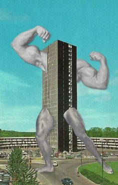 Retro Pop Culture Collages - The Sammy Slabbinck Mixed Media Series is Comical (GALLERY)