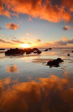 A winter sunset Nor - Ben Geudens RT