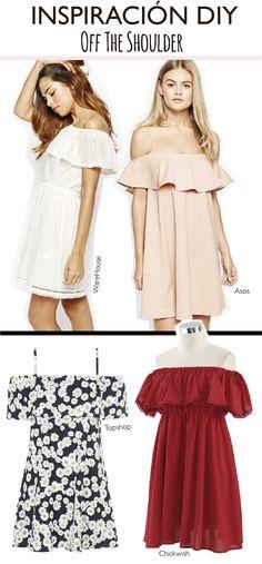 Off the shoulder!! El vestido #DIY más fácil del mundo 3.0