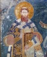 St Sava was the first archbishop of the autocephalous Serbian church. Born in Tirnovo, Bulgaria, in 1173, the third son of prince Stephen Nemanya (who achieved independence for the Serbs from Byzantium), he became a monk on Mount Athos in 1191. His father abdicated in favour of another son, also called Stephen, and join Sava on Mt Athos.