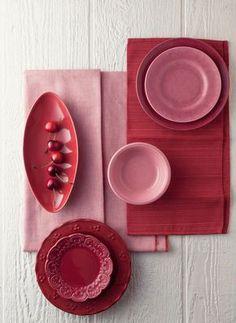 marsala and pink