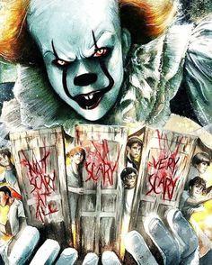 A Coisa(It) e o assustador Pennywise. 10 filmes de terror assustadores. O cinema disposto em todas as suas formas. Análises desde os clássicos até as novidades que permeiam a sétima arte. Críticas de filmes e matérias especiais todos os dias. #filme #filmes #clássico #cinema #ator #atriz