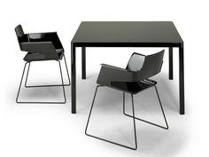 Tavolo quadrato LA TABLE 80X80 H75 | Tavolo per contract Collezione LA by AREA DECLIC