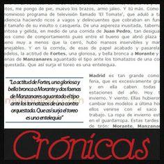 Especial Crónicas de San Isidro 2014 en Mundotoro.com