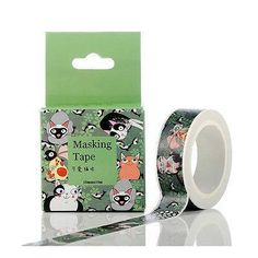 Cute Cats Washi Tape by HawraaStore on Etsy