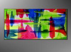 Kunstgalerie Winkler XL Acrylbilder Abstrakt Leinwand Bilder Original Unikat Neu
