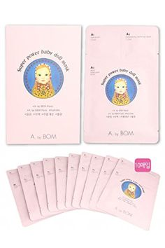 A.By Bom Super Power Baby Doll Masks 3step Face Facial Sk... https://www.amazon.co.uk/dp/B01GVGPE66/ref=cm_sw_r_pi_dp_5ilyxbS1VRQ8Y