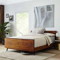 Lars Mid-Century Bed