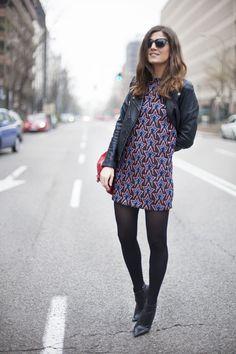 Belen de B a la moda. Un día con estrella. Mini dress. Street style outfits. Looks de street style. Fashion Blogger.