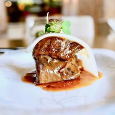 Wagyu Beef Shank at Forest 森 #sgeats #sgrestaurant #forestrestaurant #forestsg #sentosarestaurant #equariushotel #ordinarypatrons