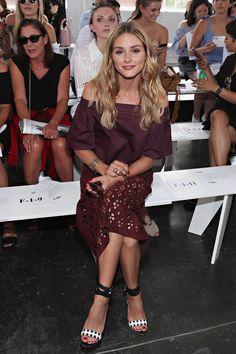 "breathtakingwomen: "" Olivia Palermo at the Tibi Show New York City (10 September, 2016) """
