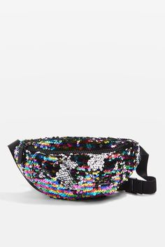 MAX Rainbow Sequin Bumbag