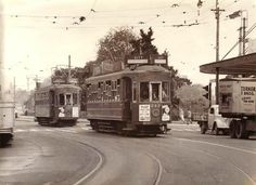 ATB, Auckland Transport Board Trams, 1956 Auckland New Zealand, Train Stations, Light Rail, Places Of Interest, Historical Photos, Buses, Trains, Transportation, Bridge