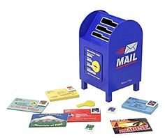 Melissa & Doug Stamp and Sort Mailbox - Free Shipping