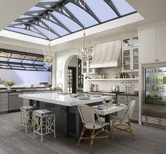A Light-Filled Kitchen | Traditional Home