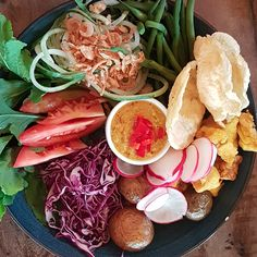 Gado-Gado is one of my favourite Indonesian salads and it's so easy to make!