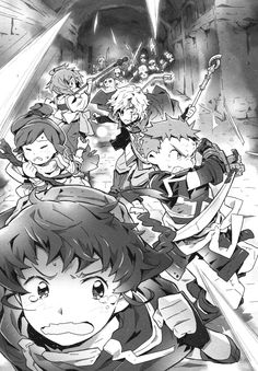 Log Horizon. the newbies first dungeon. (sniff) they grow up so fast...