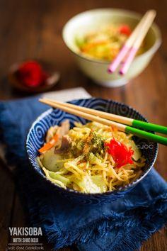 Japanese Stir Fried Noodles (Yakisoba with Shio Koji) | Easy Japanese Recipes at JustOneCookbook.com