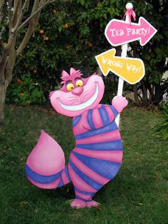 ~ PARTY IDEAS ~ Alice in Wonderland, Chesire Cat