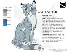 Jayfeather Character Sheet by *Nightrizer on deviantART