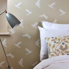 Paper Doves wallpape