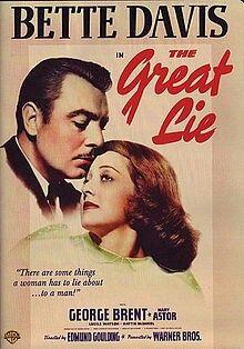 "Bette Davis: ""the great lie"" 1941.."