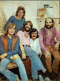 The Moody Blues -first seen in 1970 at Cobo Hall in Detroit....opening act was a solo Van Morrison.