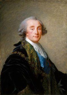 Alexandre Charles Emmanuel de Crussol-Florensac (1743-1815), Deputy of the Nobility to the Constituent Assembly of 1789, 1787 by Élisabeth Louise Vigée Le Brun