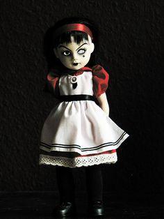 Living Dead Dolls - Sadie as Alice, via Flickr.