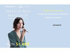 Enter to win $1000 shopping spree to Sephora!