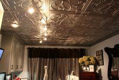 Talissa Decor - Metallic drop ceiling tiles