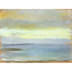 You'll love the Marine Sunset' by Edgar Degas Painting Print on Rolled Canvas at Wayfair - Great Deals on all Décor  products with Free Shipping on most stuff, even the big stuff.