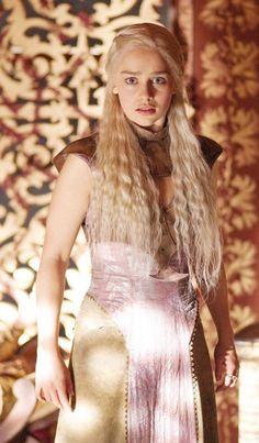 Emilia Clarke as Daenerys Targaryen 1