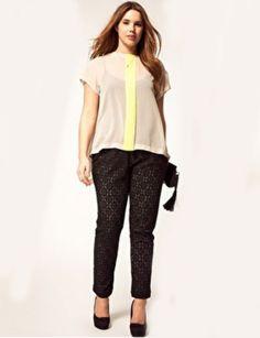 Versatile lace pants