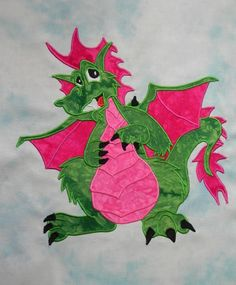 I was in my dungeon piecing dragons - as you do , and I felt another tip coming on. This time it is a bit of a visual on how to piece fusible web appliques. The theory is very easy if the practice ...