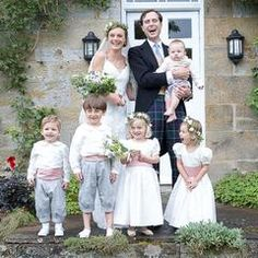 2a269dc58c1 Flower girls and Pageboys in silk bridesmaid dresses and shirts