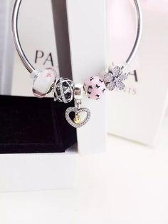 50% OFF!!! $159 Pandora Charm Bracelet. Hot Sale!!! SKU: CB01519 - PANDORA Bracelet Ideas