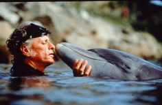 Ric O'Barry dolphin trainer turned activist. Known for his work with the Earth Island Institute to create The Dolphin Project and his documentary The Cove.