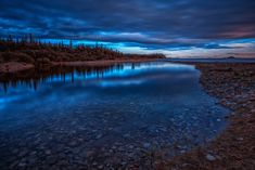 A Peaceful Evening at Blue Hour on the Pukaskwa Trail in Ontario 7 Continents, Beauty Around The World, Blue Hour, Natural Park, Lake Superior, Parcs, Day Hike, Nature Pictures, Hiking Trails