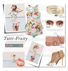 """Summertime with Dorrtya Kovacs & Stylemoi"" by nfabjoy ❤ liked on Polyvore featuring Burberry and Eloquii"
